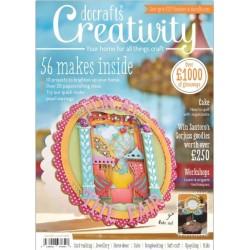 Creativity inklusiv 3 gratis gaver, stemper, knapper og træ skabeloner, nummer 47