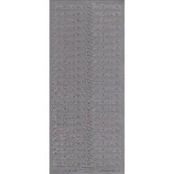 """Stickers """"indbydelse"""" 634 (sølv)"""