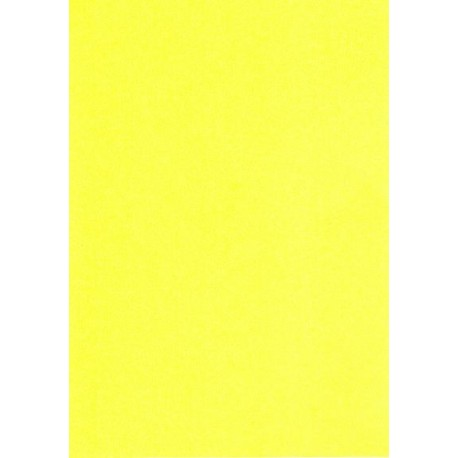 A5 karton Påskelilje gul