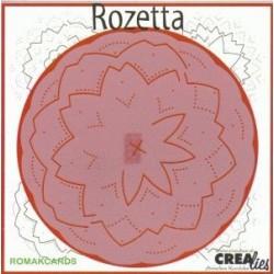 Broderi skabelon, Rozetta 02 (RB03)