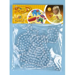 Hama maxi perleplader, skildpadde og hval