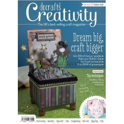 Creativity fra docrafts inklusiv 3 gratis gaver, blandet bånd, dvd og decoupage pk, nummer 44