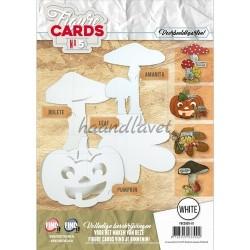 Figurkort, Hæfte 5 med 8 udstansede figurkort