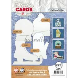 Figurkort, Hæfte 6 med 8 udstansede figurkort